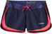 Patagonia W's Strider Shorts Navy Blue w/Shock Pink